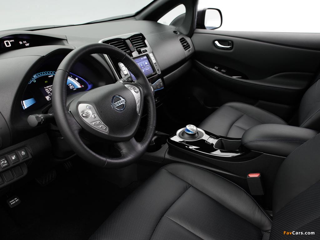 Nissan Leaf US-spec 2013 photos (1024 x 768)