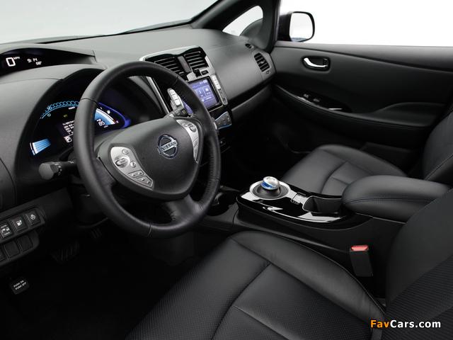 Nissan Leaf US-spec 2013 photos (640 x 480)