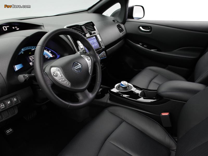 Nissan Leaf US-spec 2013 photos (800 x 600)