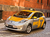 Nissan Leaf Taxi US-spec 2013 pictures