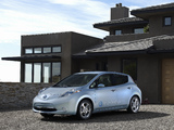 Photos of Nissan Leaf US-spec Prototype 2010