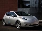 Photos of Nissan Leaf US-spec 2010–13