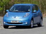 Photos of Nissan Leaf UK-spec 2011