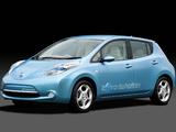 Pictures of Nissan Leaf JP-spec (ZEO) 2010