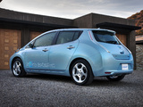 Pictures of Nissan Leaf US-spec Prototype 2010
