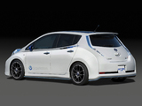 Pictures of Nissan Leaf Nismo Concept 2011