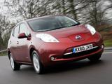 Pictures of Nissan Leaf UK-spec 2011