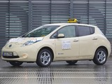 Pictures of Nissan Leaf Taxi 2013