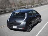 Pictures of Nissan Leaf US-spec 2013