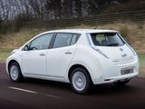 Pictures of Nissan Leaf 2013