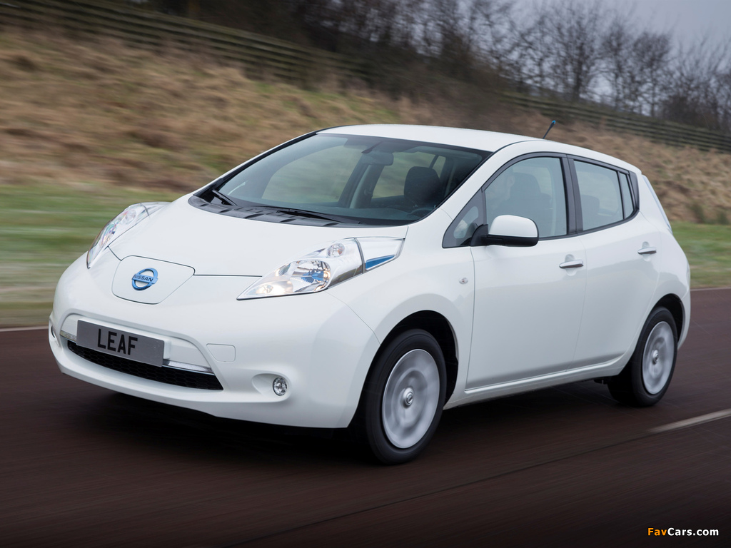 Pictures of Nissan Leaf 2013 (1024 x 768)
