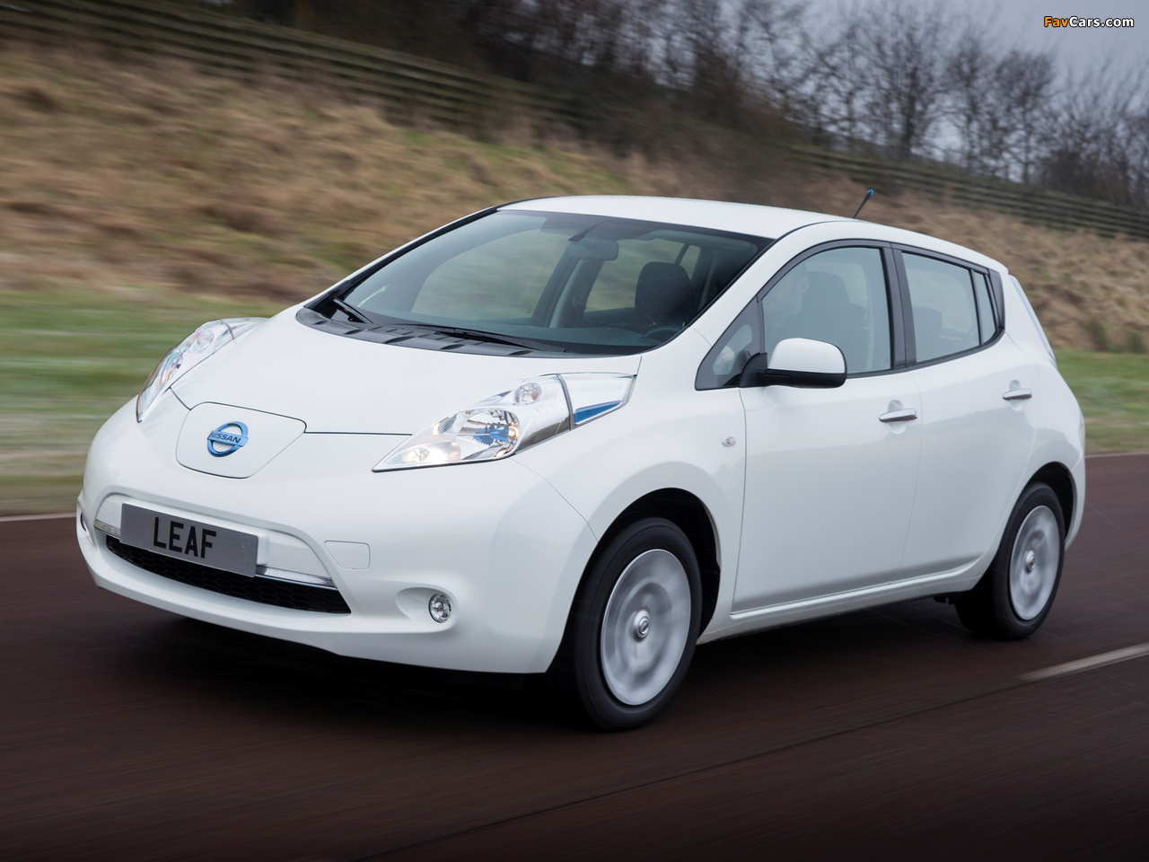 Pictures of Nissan Leaf 2013 (1280 x 960)