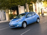 Nissan Leaf 2010 wallpapers