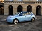 Nissan Leaf JP-spec (ZEO) 2010 wallpapers