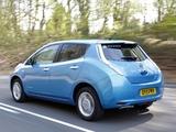 Nissan Leaf UK-spec 2011 wallpapers