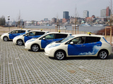 Nissan Leaf Taxi 2013 wallpapers