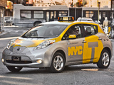 Nissan Leaf Taxi US-spec 2013 wallpapers