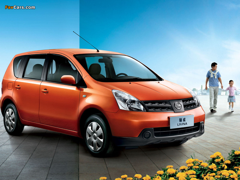 Images of Nissan Livina 2007–13 (800 x 600)