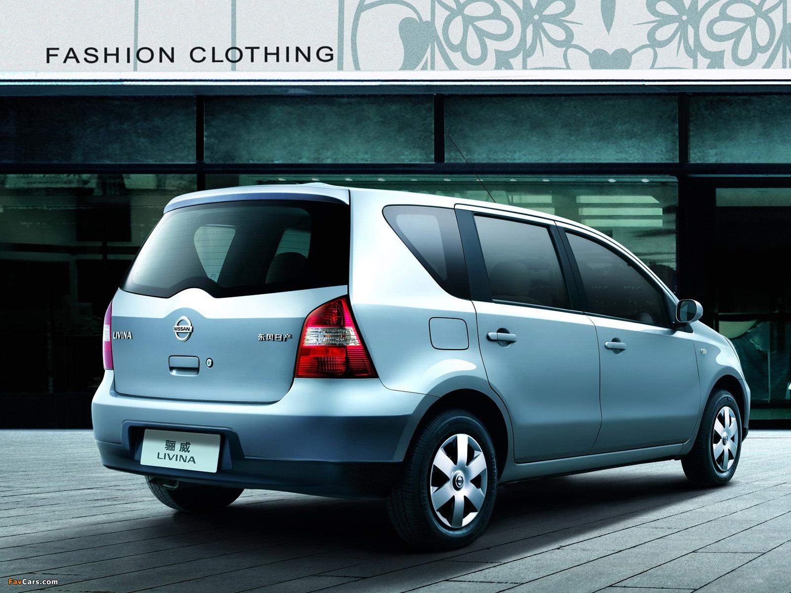 Nissan Livina 2007–13 pictures (1600 x 1200)
