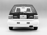 Nissan March Turbo (K10GFTI) 1985–91 pictures