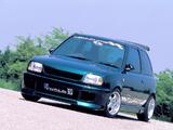 WALD Nissan March Spritzer 3-door (K11) 1992–97 wallpapers