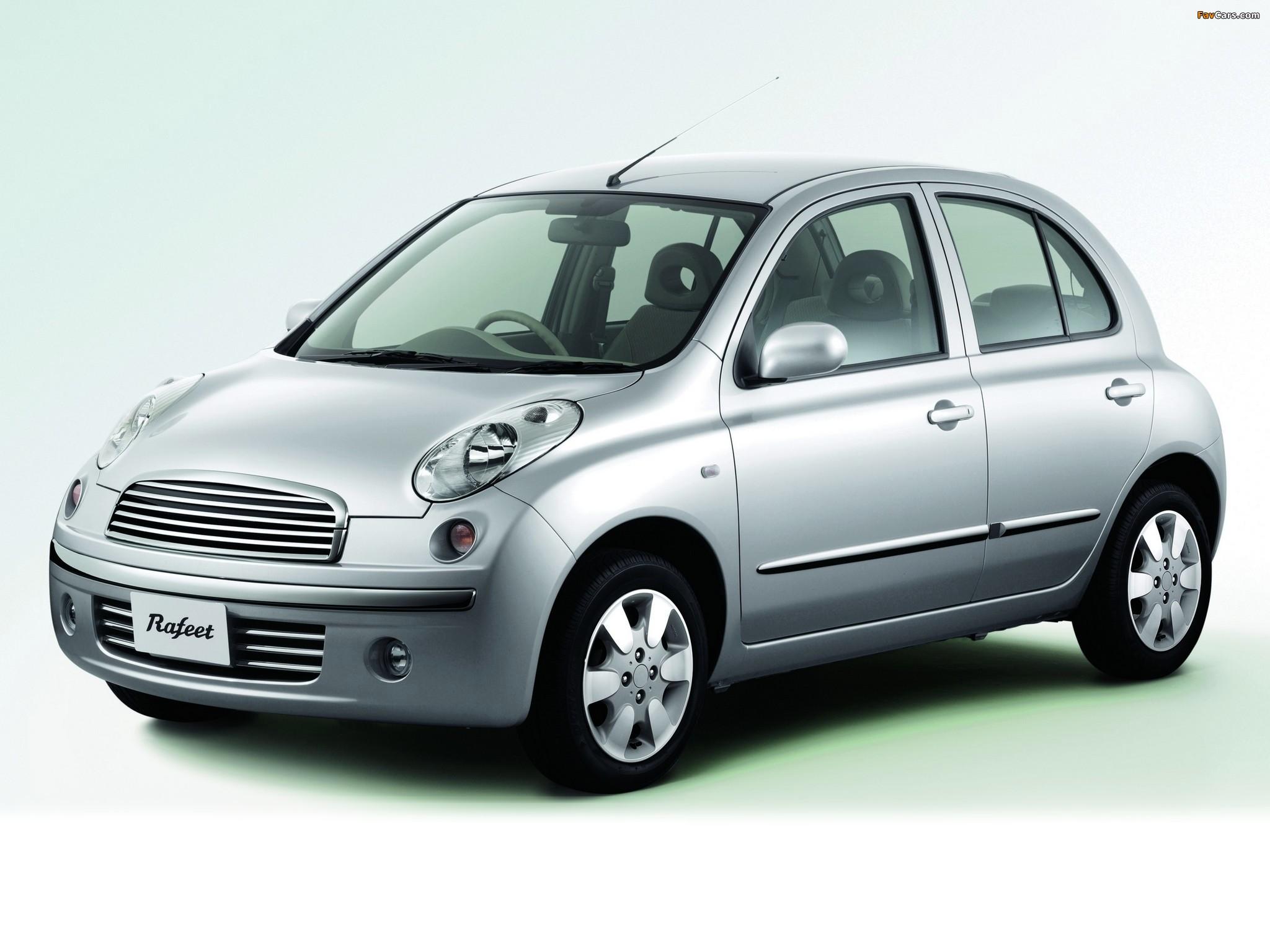 Autech Nissan March Rafeet (K12) 2002–10 pictures (2048 x 1536)
