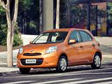 Nissan March 5-door BR-spec (K13) 2011 images