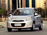 Nissan March 5-door BR-spec (K13) 2011 wallpapers
