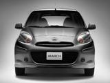 Nissan March SR Premium (K13) 2012 images