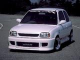 Photos of WALD Nissan March Spritzer 3-door (K11) 1992–97