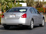 Pictures of Nissan Maxima (A35) 2004–06