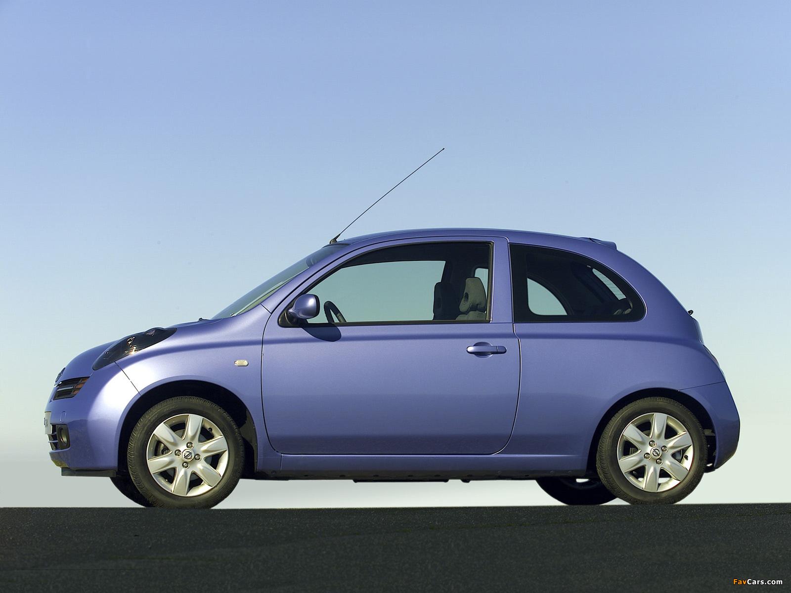 Images of Nissan Micra 3-door (K12) 2003–05 (1600 x 1200)