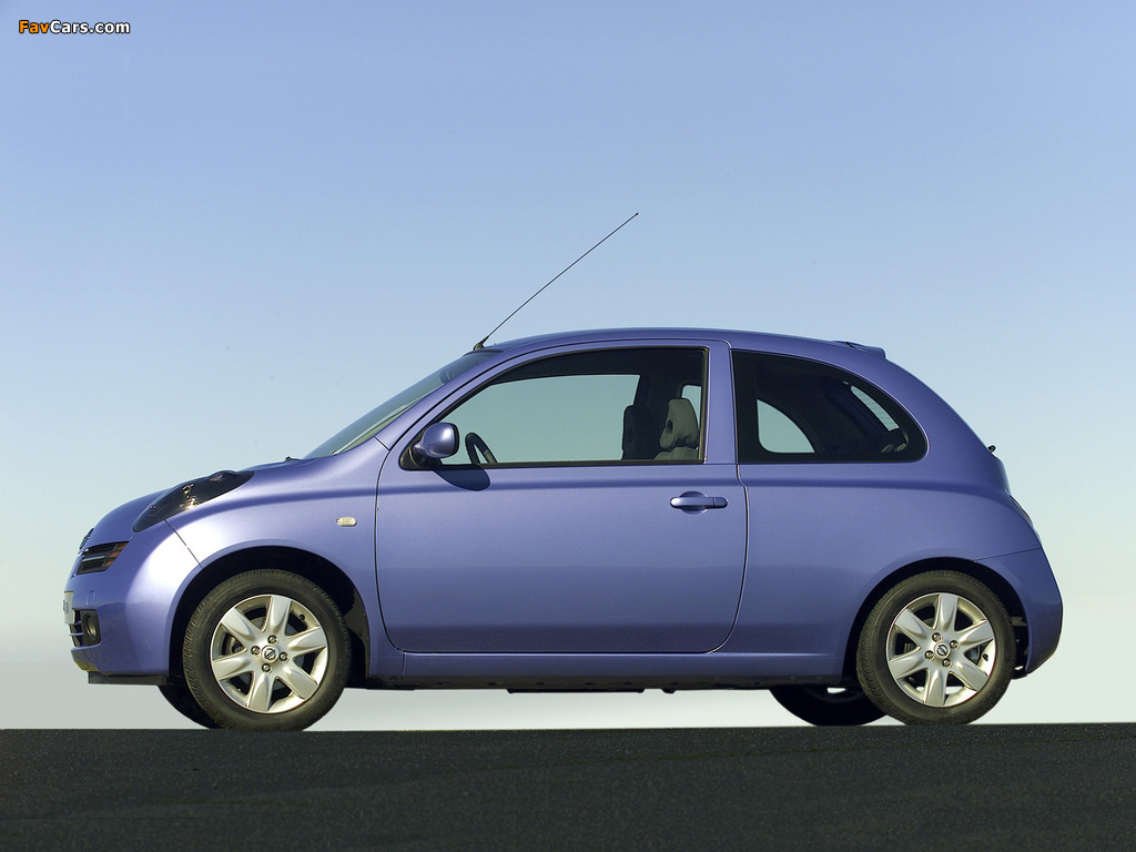 Images of Nissan Micra 3-door (K12) 2003–05 (1024 x 768)