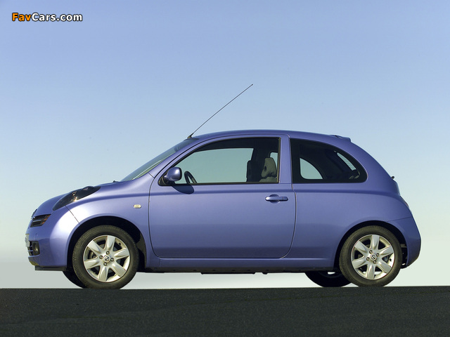 Images of Nissan Micra 3-door (K12) 2003–05 (640 x 480)