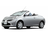 Images of Nissan Micra C+C JP-spec (FHZ12) 2007–10
