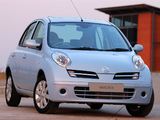 Images of Nissan Micra Elegance 5-door (K12C) 2007