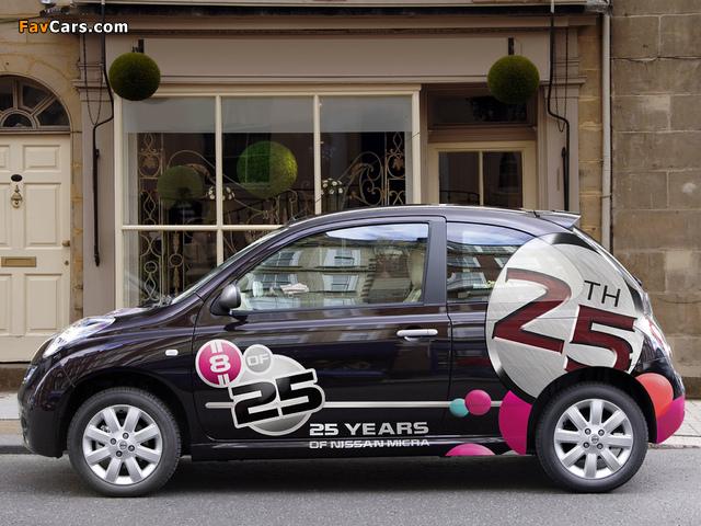 Images of Nissan Micra 3-door 25th Anniversary UK-spec (K12C) 2008 (640 x 480)