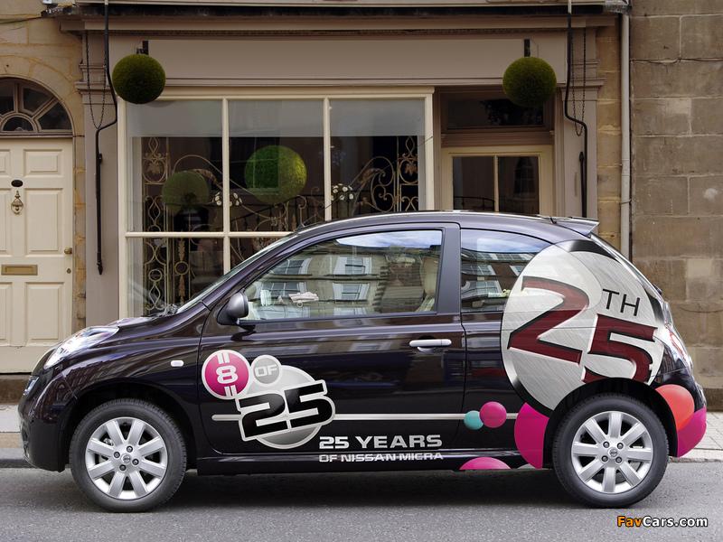 Images of Nissan Micra 3-door 25th Anniversary UK-spec (K12C) 2008 (800 x 600)