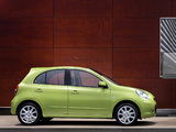 Images of Nissan Micra 5-door (K13) 2010