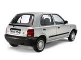 Nissan Micra 5-door (K11) 1992–97 photos