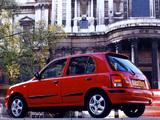 Nissan Micra 5-door UK-spec (K11B) 1997–99 images