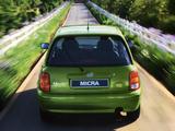 Nissan Micra 3-door (K11B) 1997–99 images