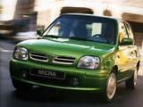 Nissan Micra 3-door (K11B) 1997–99 photos