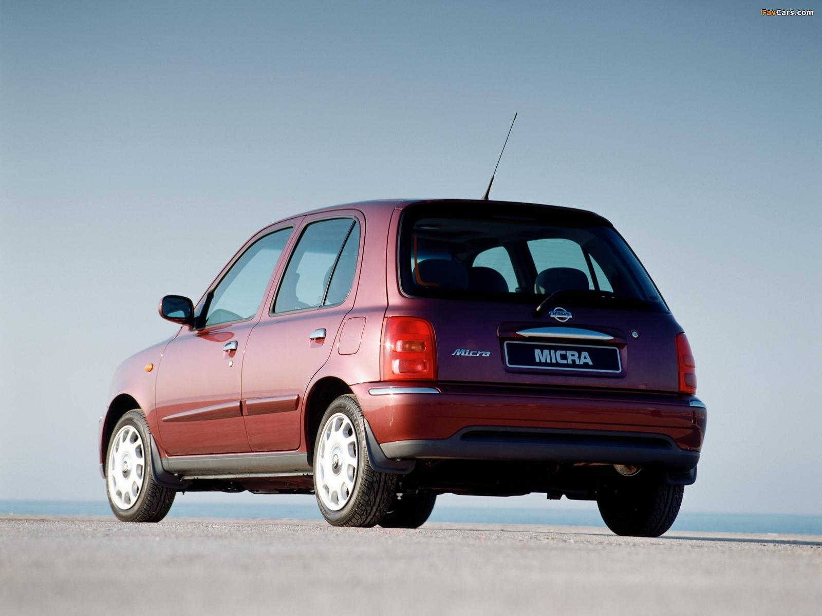 Nissan Micra 5-door (K11C) 1999–2003 pictures (1600 x 1200)