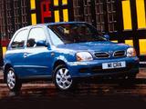 Nissan Micra 3-door UK-spec (K11C) 1999–2003 pictures