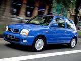 Nissan Micra 3-door (K11C) 1999–2003 wallpapers