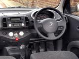 Nissan Micra 5-door UK-spec (K12) 2003–05 wallpapers