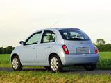 Nissan Micra 5-door (K12) 2005–07 photos