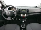Nissan Micra 160SR 5-door (K12) 2005–07 photos