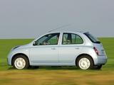 Nissan Micra 5-door (K12) 2005–07 pictures